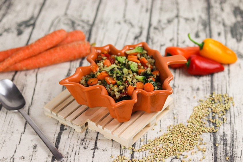 Receita de Salada de Trigo Sarraceno e Legumes na Yammi2