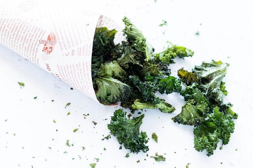 Chips de Couve Kale