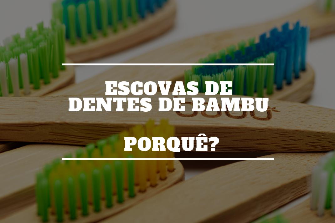 Escovas de dentes de Bambu - Porquê?