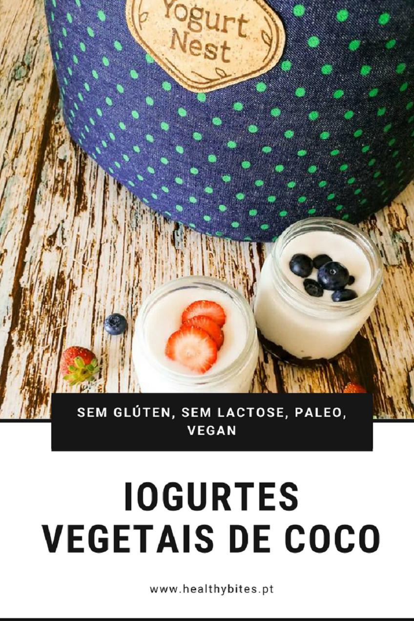 Receita de Iogurtes Vegetais de Coco [Vegan, Paleo]