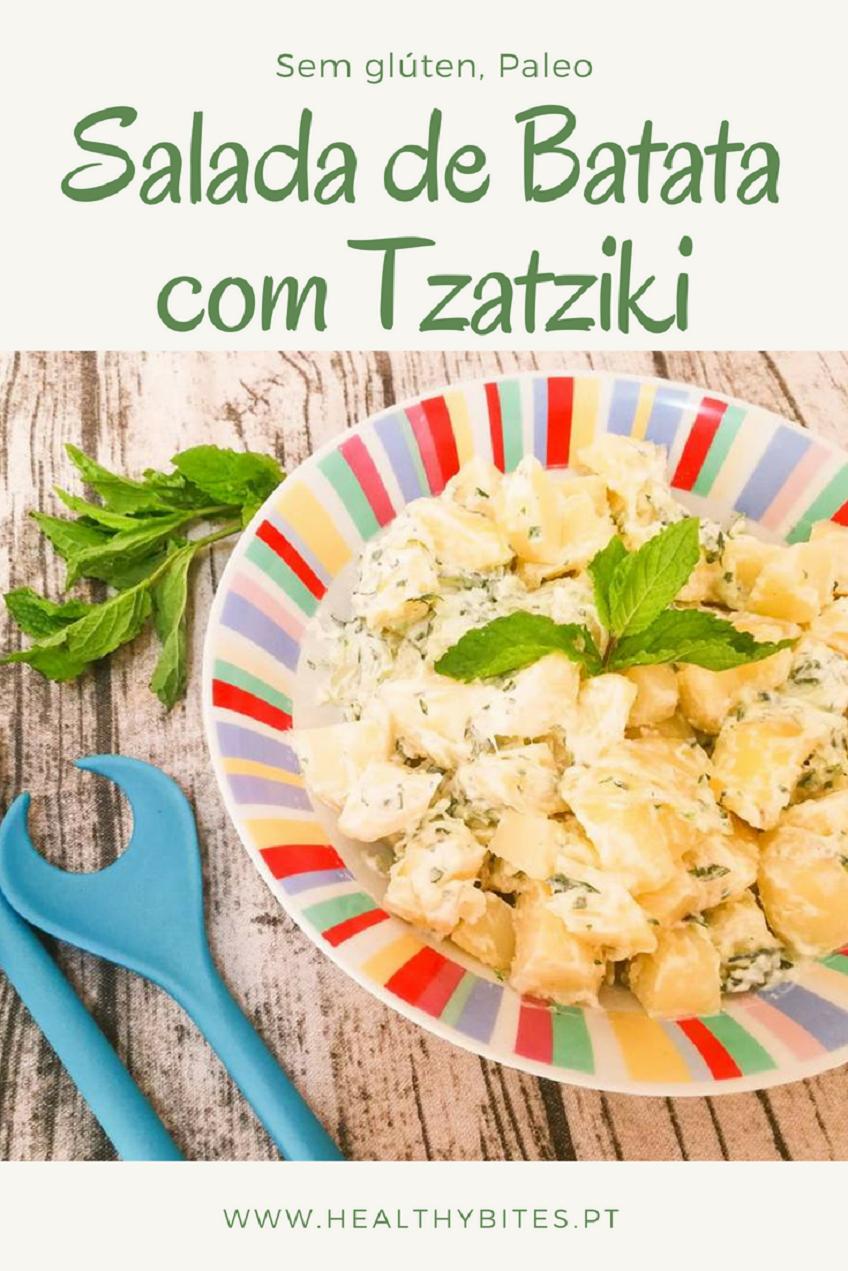 Receita de Salada de Batata com Tzatziki