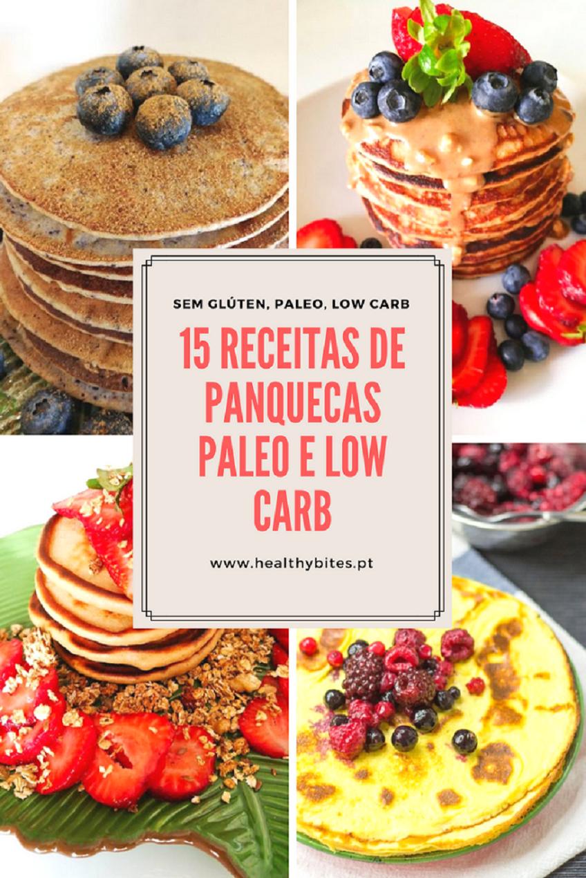 15 Receitas de Panquecas Paleo e Low Carb