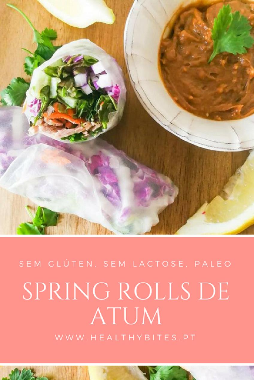 Receita de Spring Rolls de Atum