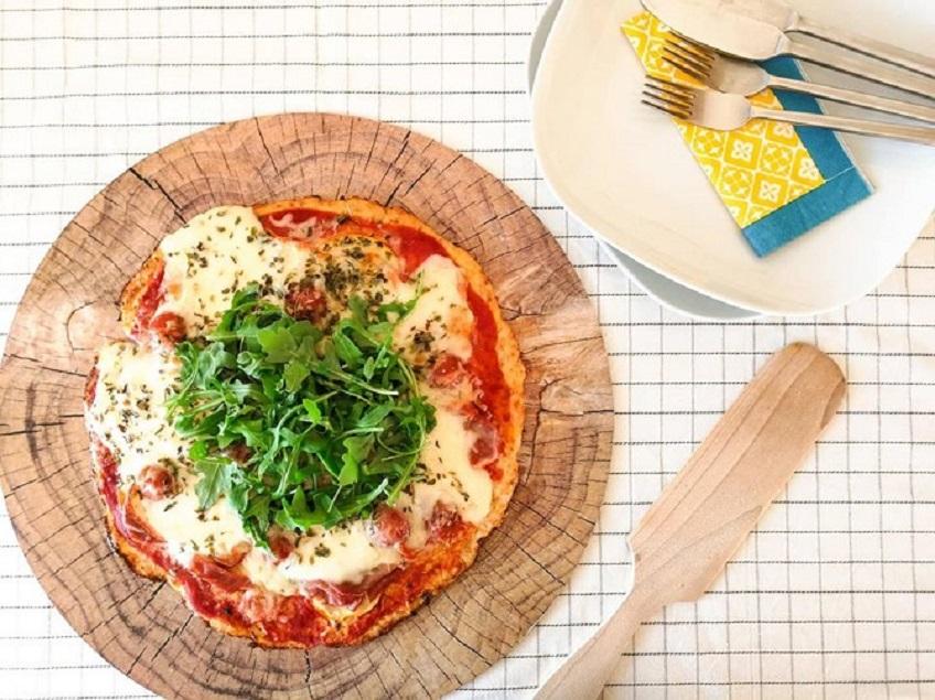Receita de Pizza de Couve-Flor