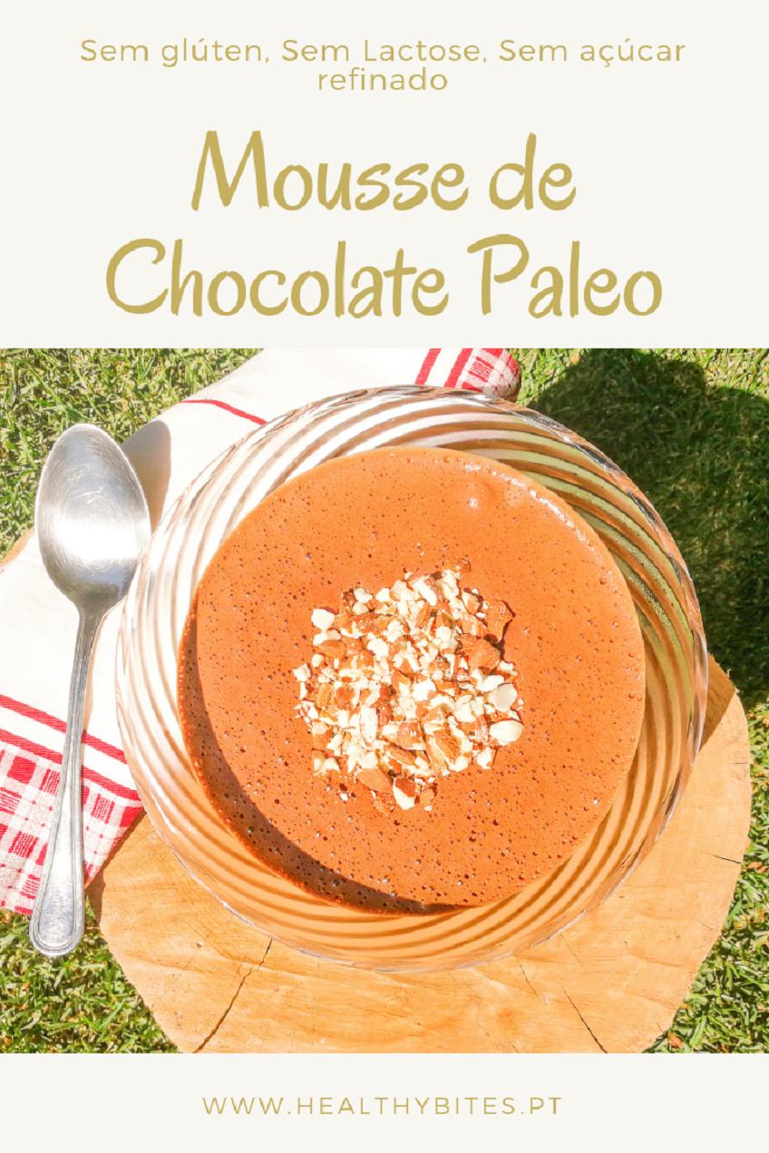 Receita de Mousse de Chocolate Paleo