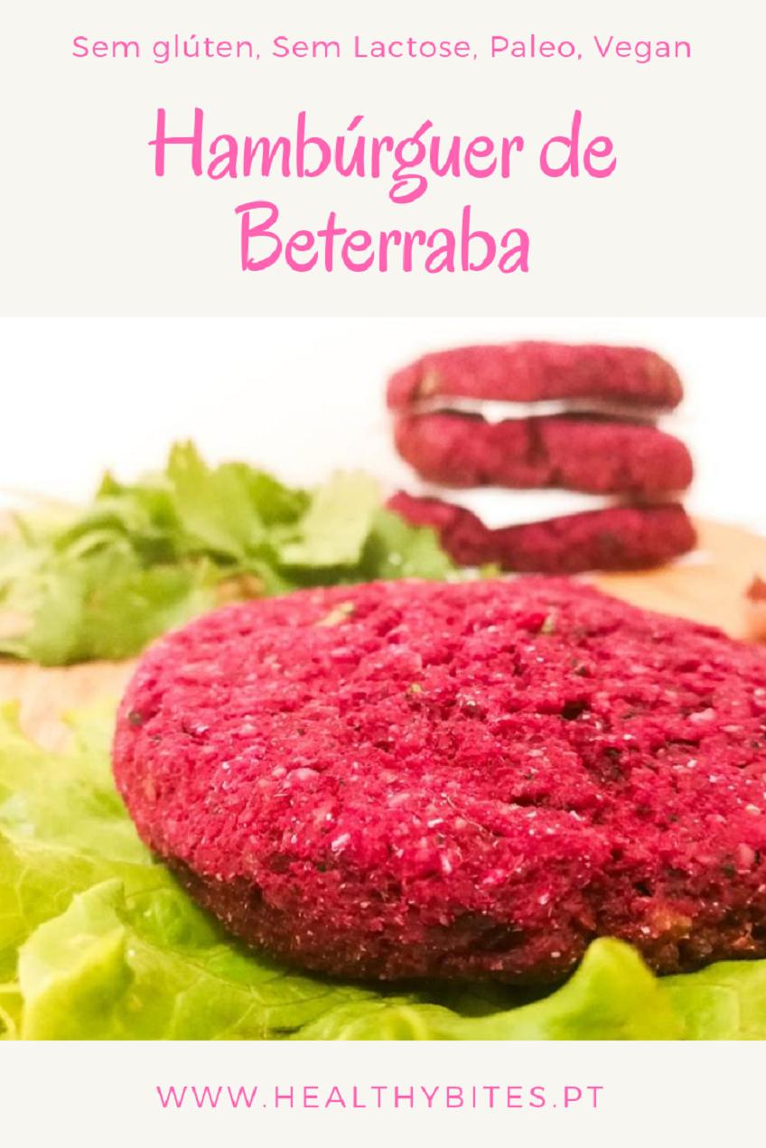 Receita de Hambúrguer de Beterraba