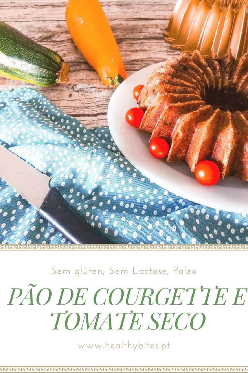 Receita de Pão de Courgette e Tomate Seco