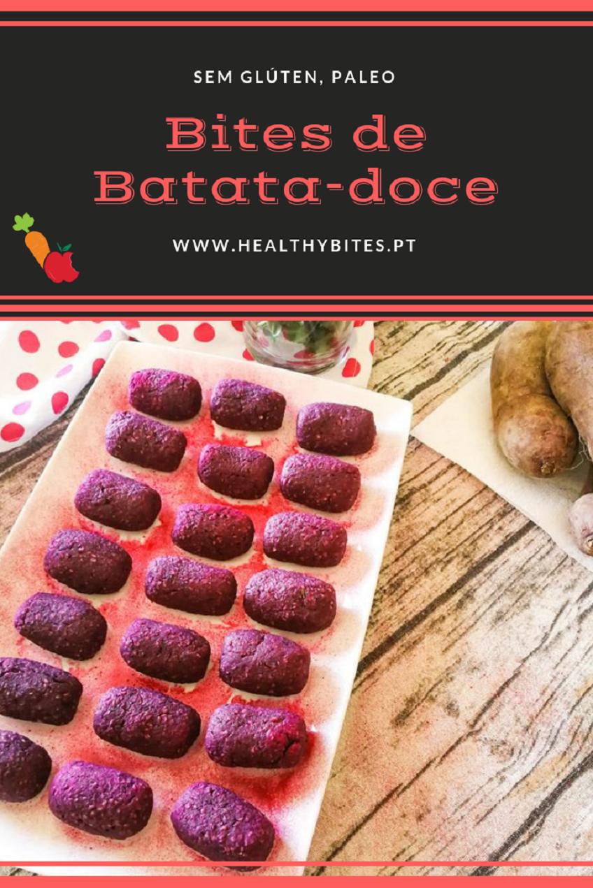 Receita de Bites de Batata Doce