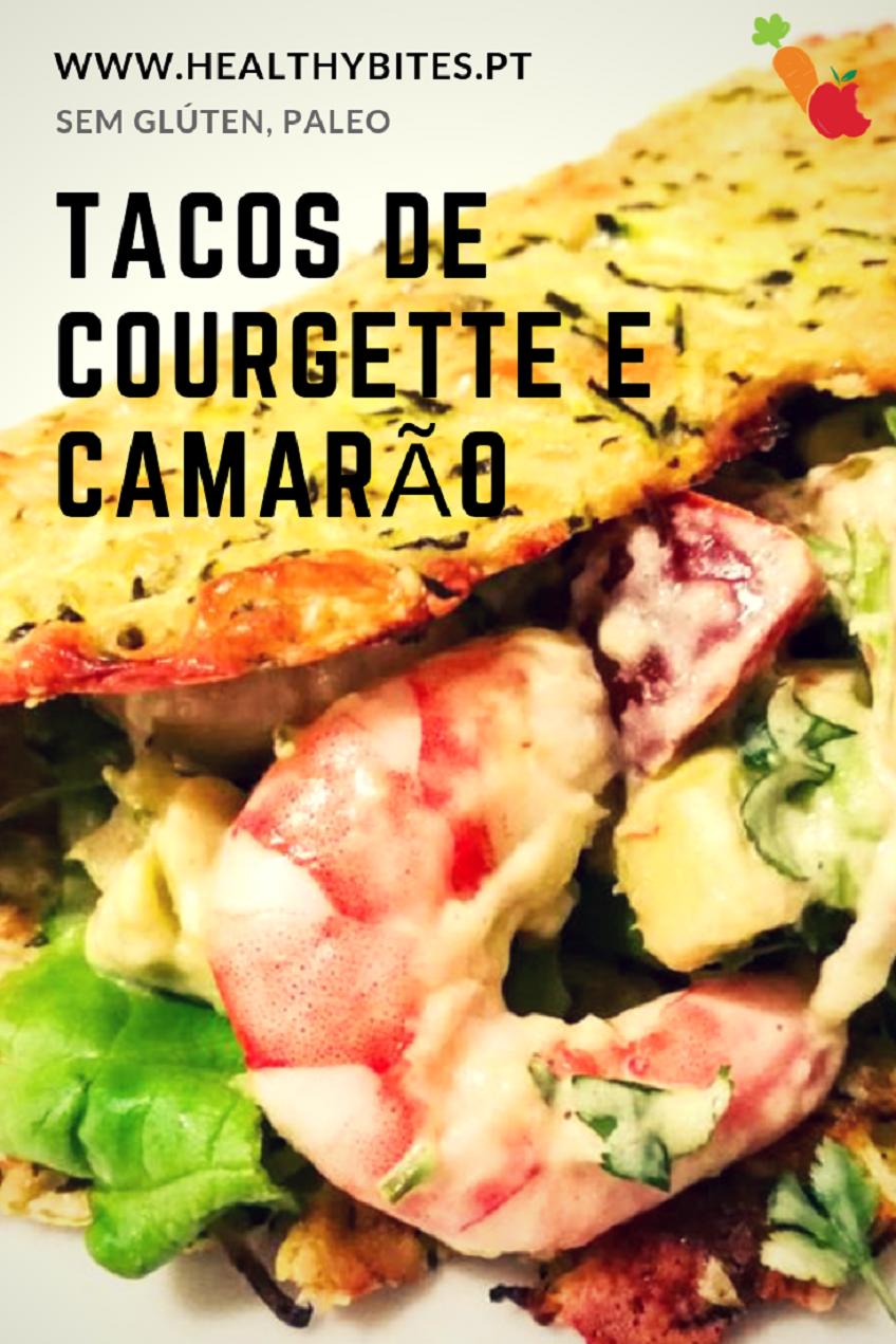 Receita de Tacos de Courgette e Camarão