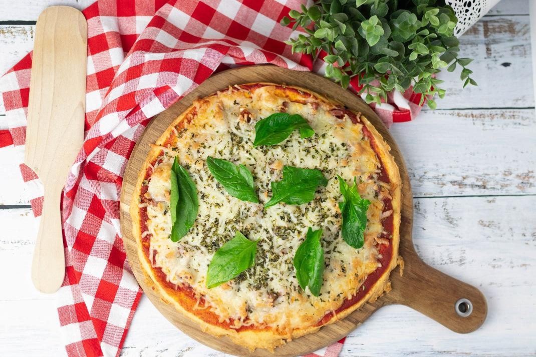 Pizza mais LOW CARB de sempre