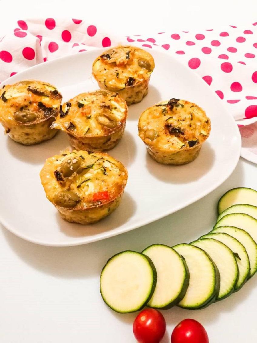 Receita de Egg Muffins de Legumes