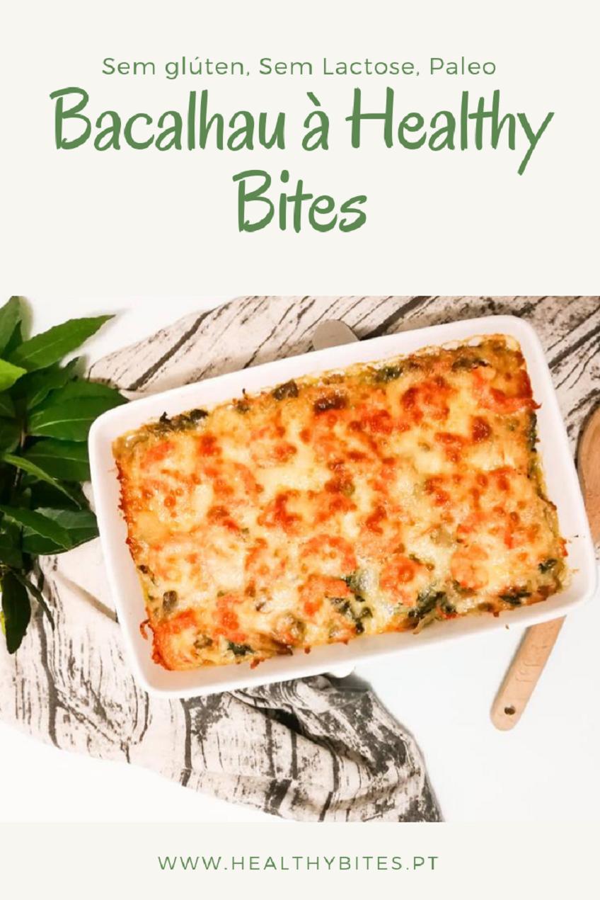 Receita de Bacalhau à Healthy Bites