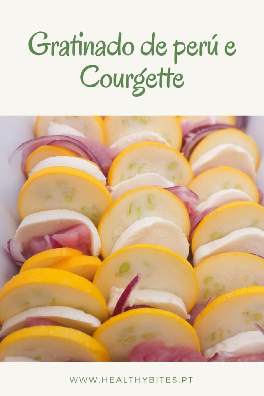 Receita de Gratinado de Perú e Courgette