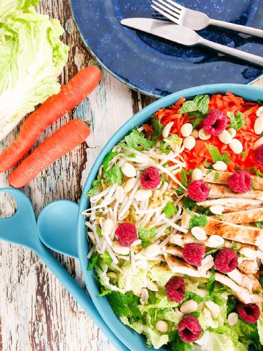 Receita de Salada de Couve Kaboko e Perú