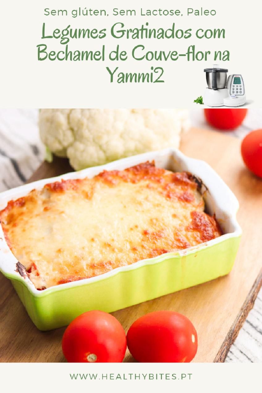 Receita de Legumes Gratinados com Bechamel de Couve-Flor na Yammi2