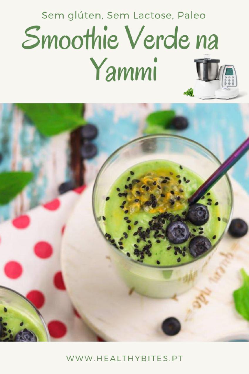 Receita de Smoothie Verde na Yammi