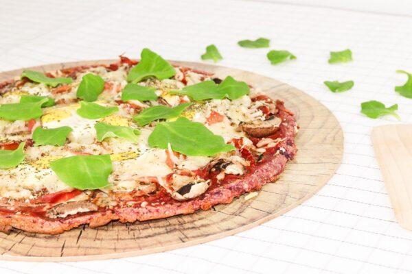 Receita de Pizza em Base de Batata doce na Yammi2