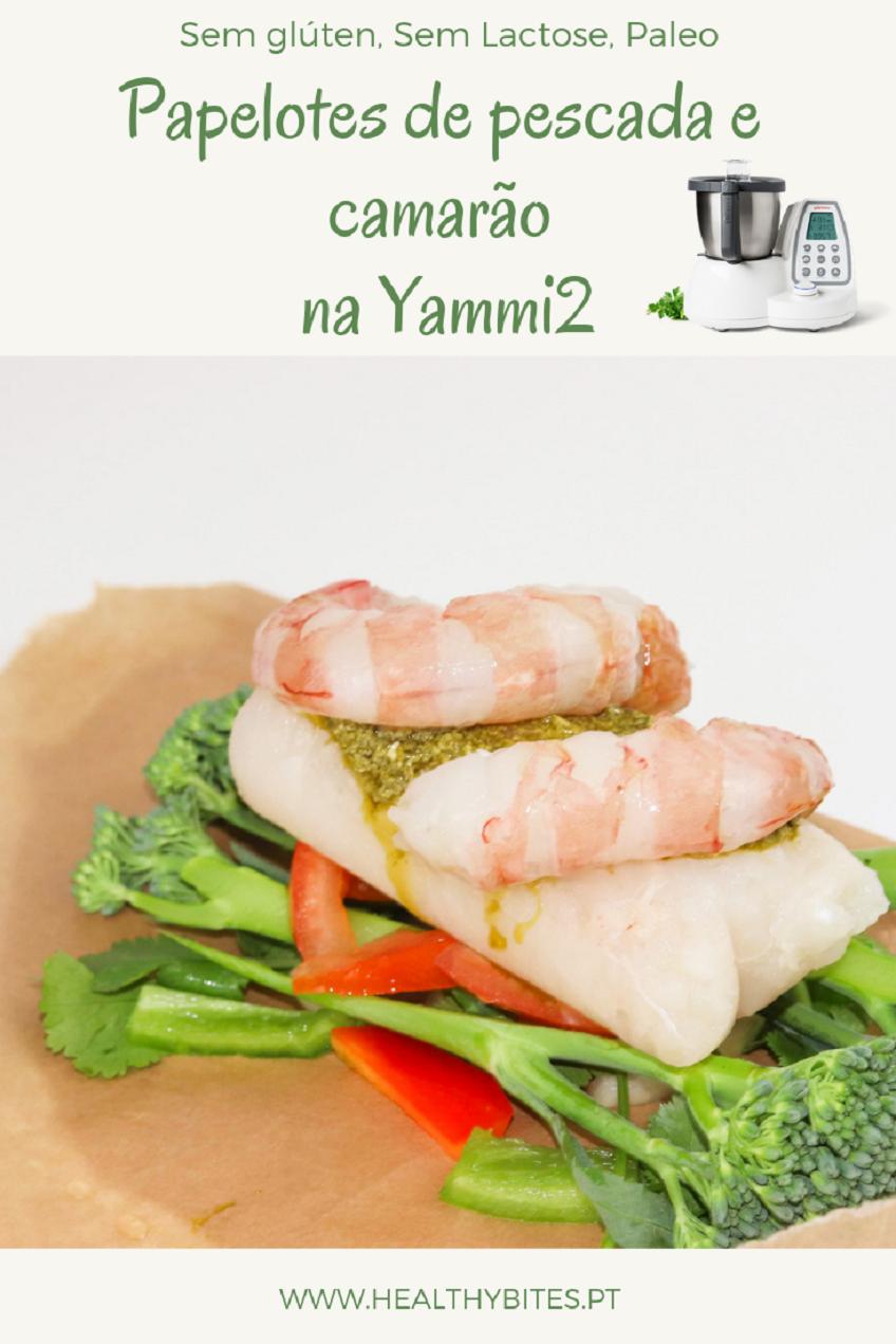 Receita de Papelotes de Pescada e Camarão na Yammi2