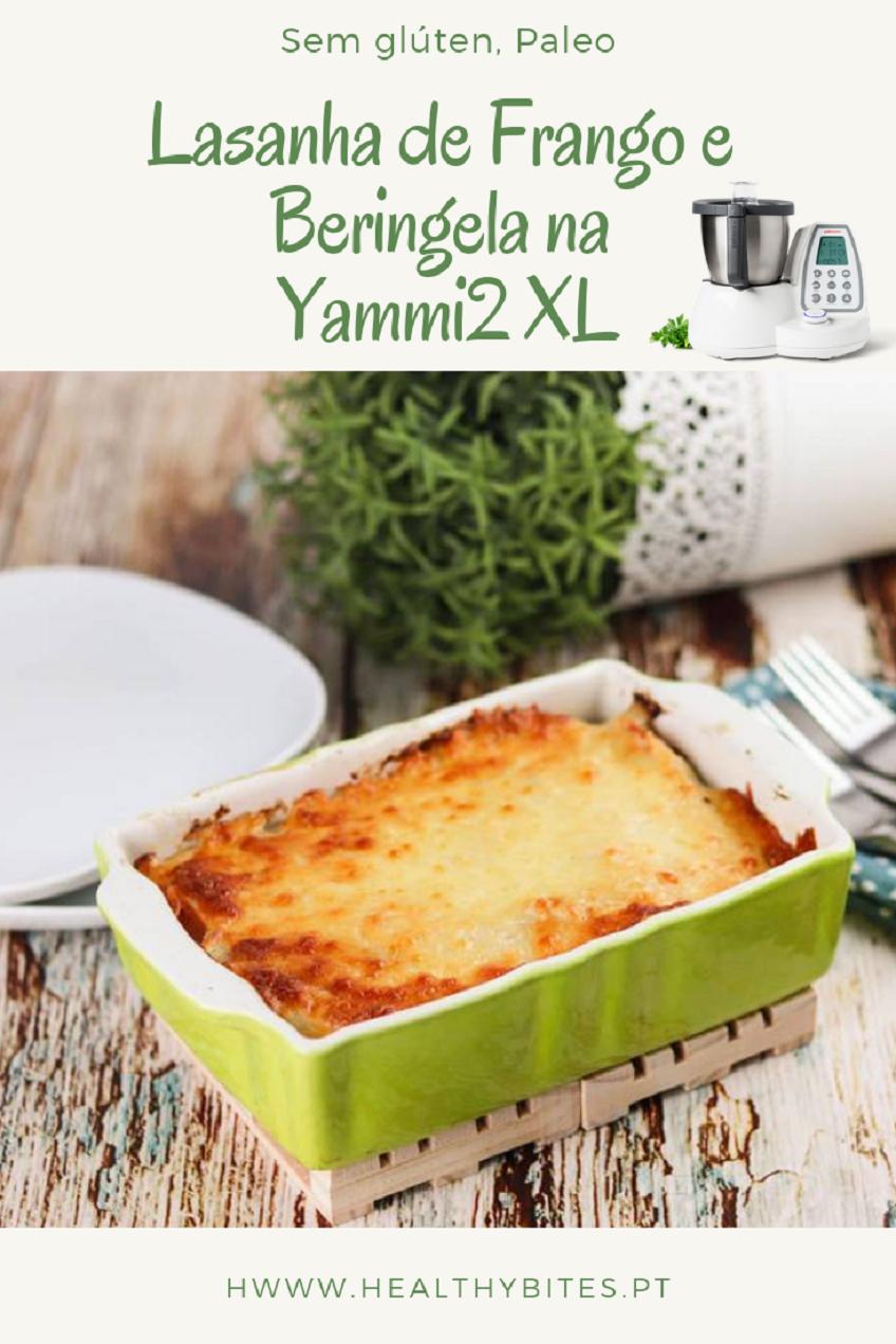 Receita de Lasanha de Frango e Beringela na Yammi2 XL