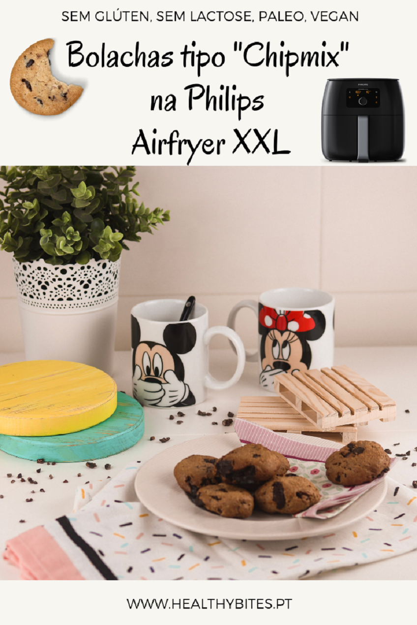 "Receita de Bolachas tipo ""Chipmix"" na Philips Airfryer XXL"