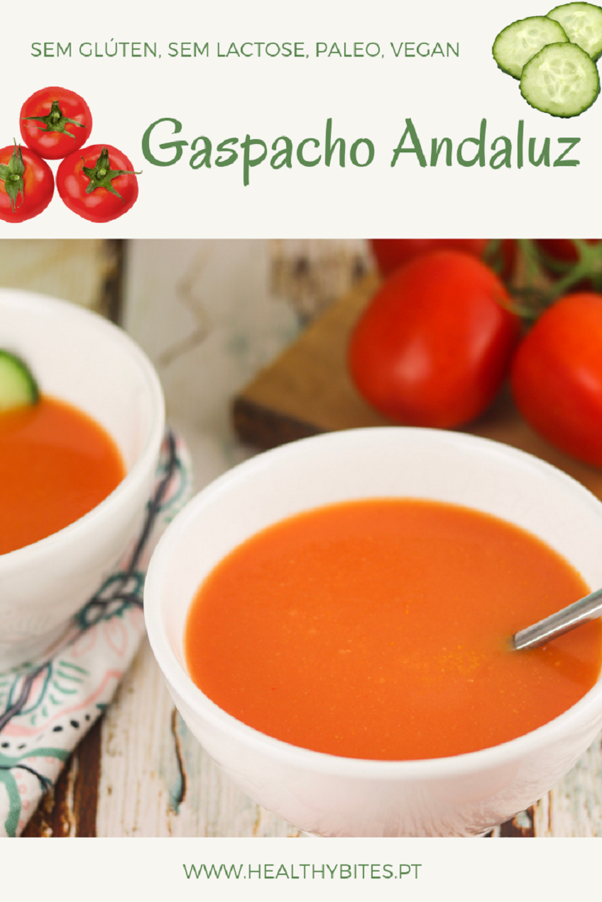 Receita de Gaspacho Andaluz