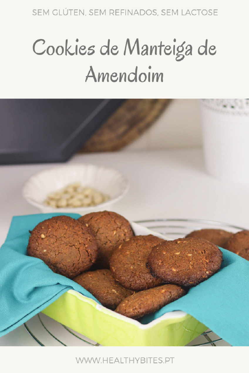 Receita de Cookies de Manteiga de Amendoim