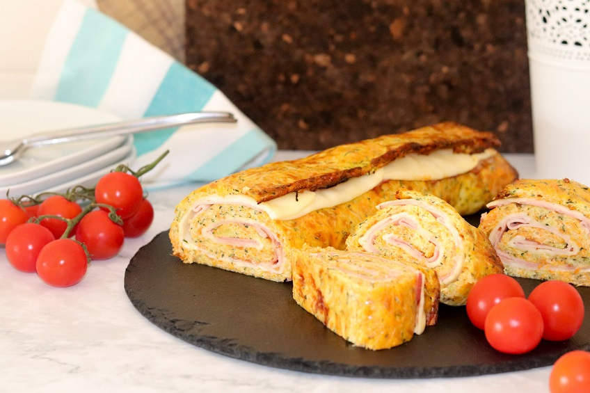 Receita de Torta de Courgette e Cenoura
