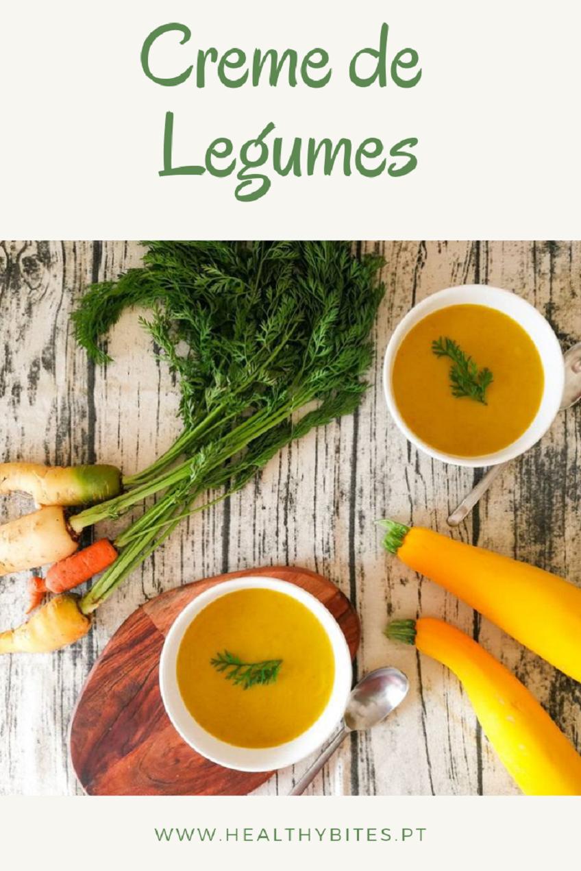 Receita de Creme de Legumes