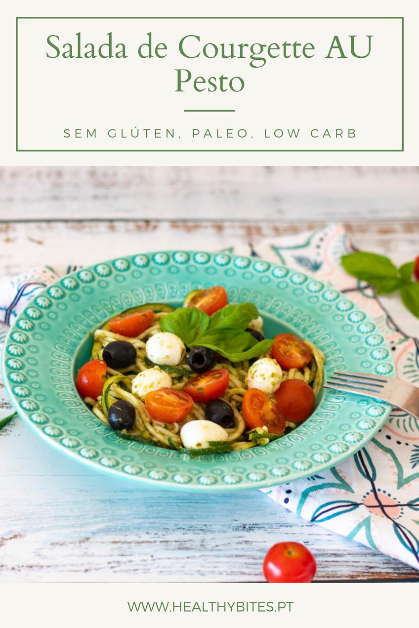 Receita de Salada de Courgette AU Pesto