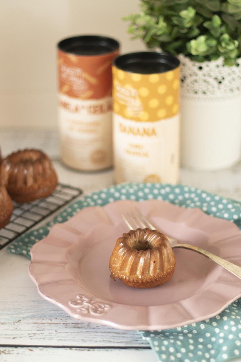 Receita de Muffins de Banana e Manteiga de Amendoim