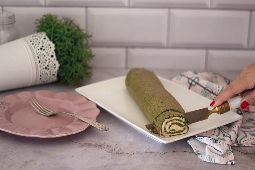 Receita de Torta de Espinafres e Salmão Fumado