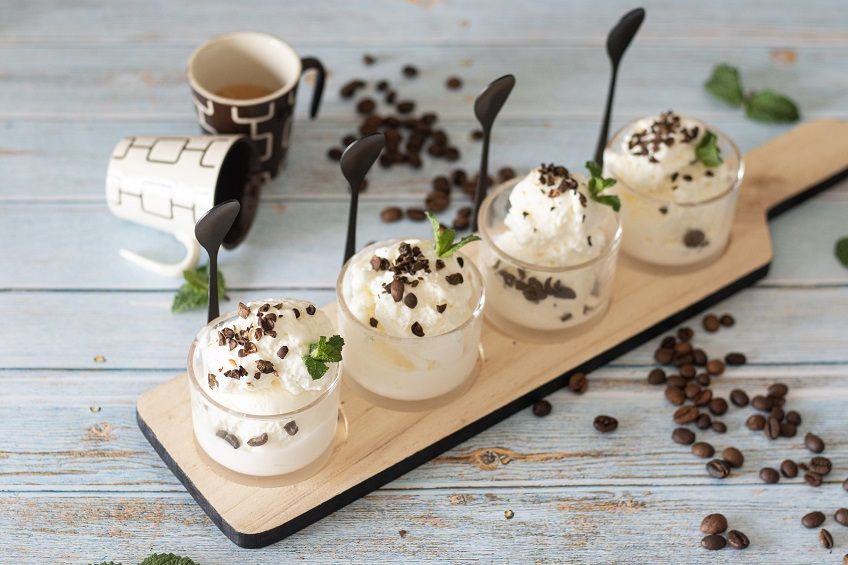 Receita de Gelado de Café