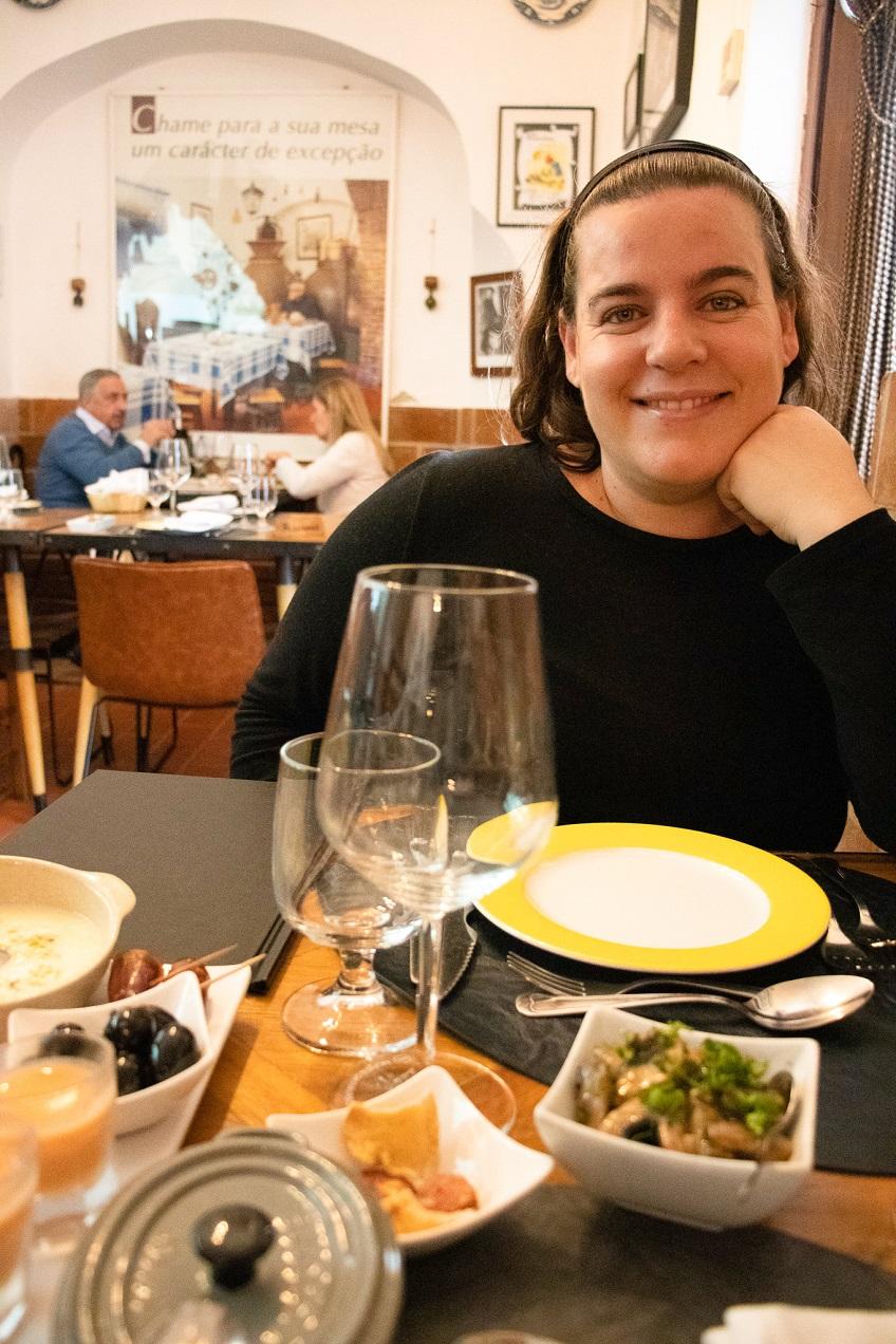Comer em Évora