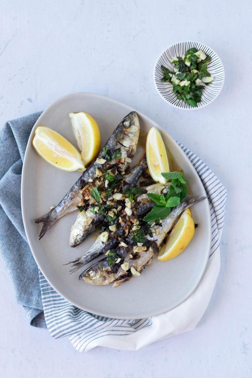 Sardinhas no forno à Siciliana