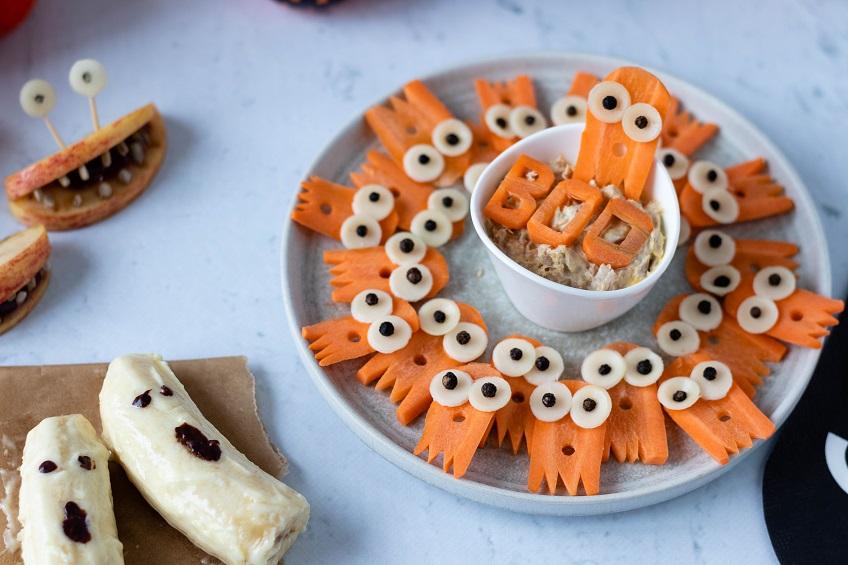 Fantasminhas de cenoura
